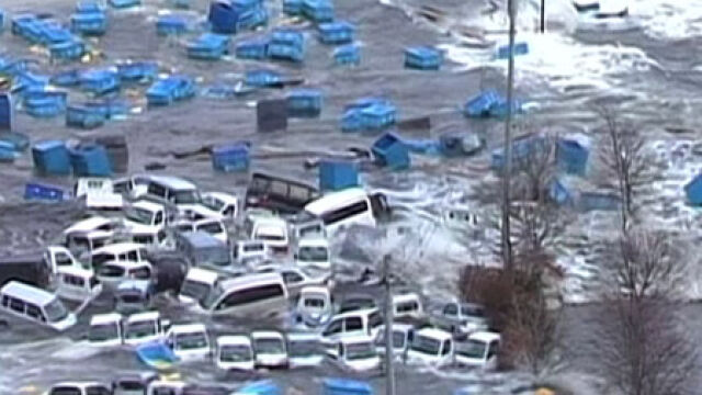 Potężne trzęsienie ziemi i tsunami nawiedziło Japonię