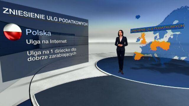 Jak Europa zaciska pasa?/TVN24