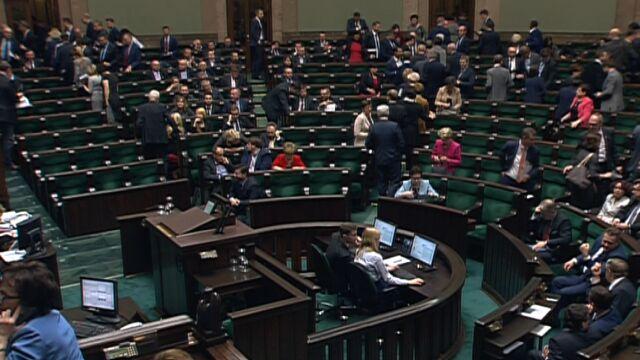 Pierwsze posiedzenie Sejmu i Senatu