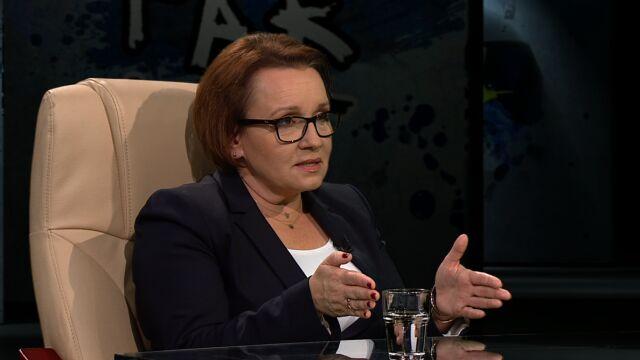 Minister edukacji: przez 15 lat nauczyliśmy dzieci rozwiązywać testy