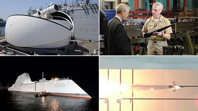 Pięć wynalazków, które przeniosą flotę USA w rzeczywistość znaną z filmów sci-fi