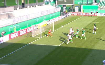 Skrót meczu Fuerstenwalde - VfL Wolfsburg w 1. rundzie Pucharu Niemiec