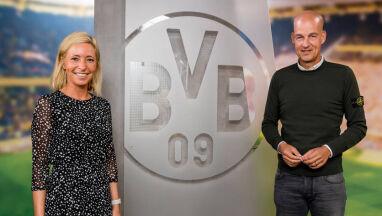 Borussia z kobiecą drużyną.