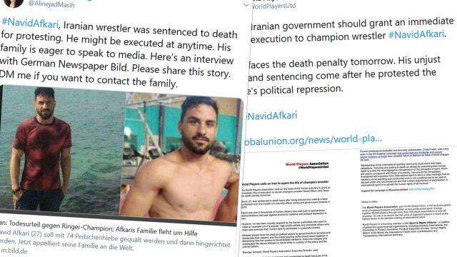 Navid Afkari został stracony. W ostatnich dniach wstawili się za nim Donald Trump i szef UFC