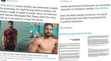 Przyznał się do zbrodni, miano zmuszać go torturami. Świat walczy o życie zapaśnika