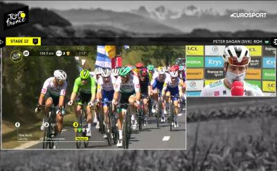 Sagan o incydencie z 11. etapu Tour de France