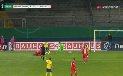 Puchar Niemiec. Eintracht Brunszwik - Hertha 5:3. Gol Suleiman Abdullahi