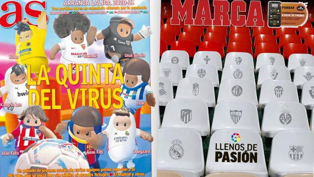 """""""Drużyna wirusa"""", """"Czy futbol wytrzyma takie warunki?"""". W Hiszpanii rusza nowy sezon"""