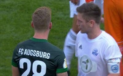 Skrót meczu Eintracht Celle - Augsburg w 1. rundzie Pucharu Niemiec