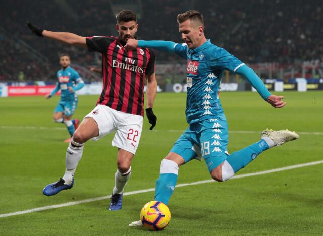 Włoskie media: Milik może zostać następcą Ibrahimovicia w Milanie