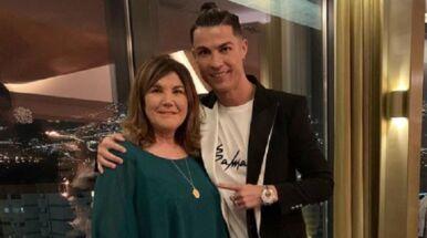 Mama Ronaldo wyszła ze szpitala.