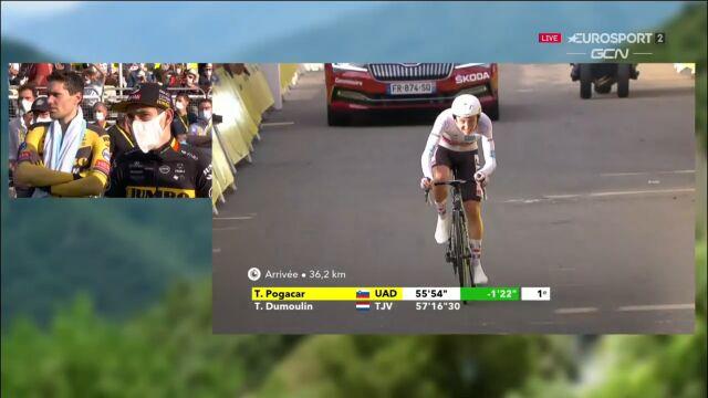 Pogacar wygrał 20. etap Tour de France i został nowym liderem wyścigu