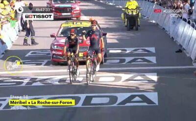 Kwiatkowski wygrał 18. etap Tour de France