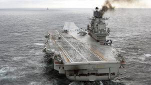 Nawet 95 miliardów rubli. Tyle może kosztować naprawa rosyjskiego lotniskowca