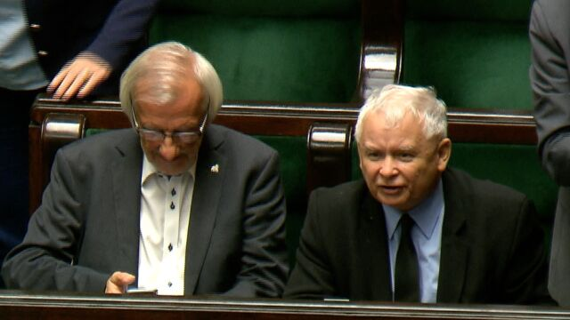 """""""Won stąd!"""", """"Zamknij mordę, chamie!"""" Kaczyńskiemu puściły nerwy"""
