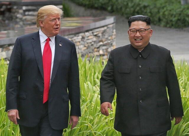 Trump: Kim to zabawny facet. Kocha swoich obywateli