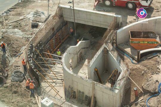 Budowanie przejścia podziemnego