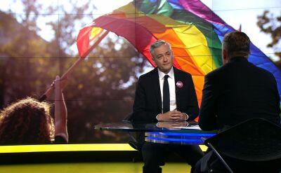 Biedroń: emancypacja kobiet, osób LGBT nie jest do zatrzymania