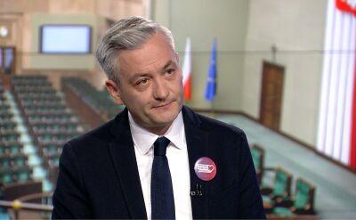 Biedroń: jeżeli dostanę jedynkę, jeżeli taka będzie wola wszystkich koalicjantów, to wystartuję w wyborach do Sejmu
