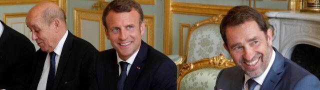"""Macron: """"zasadniczo 14 państw członkowskich"""" porozumiało się w sprawie migracji"""
