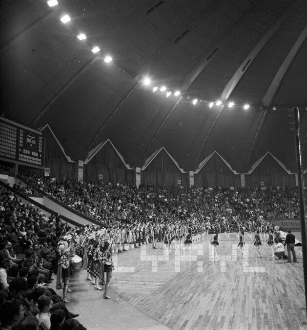Występy artystyczne z okazji wizyty Björna Borga w Hali Widowiskowo-Sportowej Arena