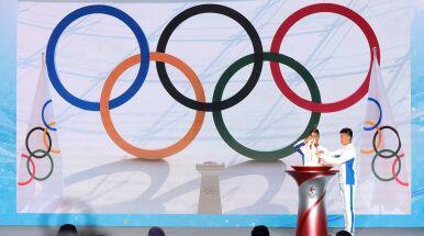 Ogień olimpijski dotarł do Chin