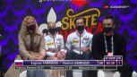 Tarasowa i Morozow na prowadzeniu wśród par po programie krótkim w Skate America