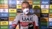 Kristoff po wygraniu 1. etapu Tour de France