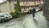 Niebezpieczna kraksa na 1. etapie Tour de France. Lopez uderzył w znak