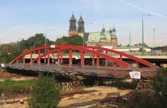 Przed przeniesieniem przez most Mieszka I