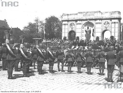 Święto Narodowe Trzeciego Maja w 1937r.