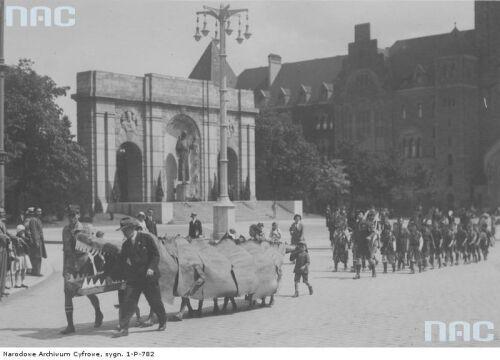 Święto zuchów w Poznaniu w 1933r.