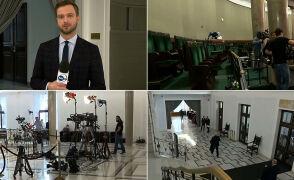 Ograniczenia dla dziennikarzy w Sejmie podczas pierwszego posiedzenia 12 listopada