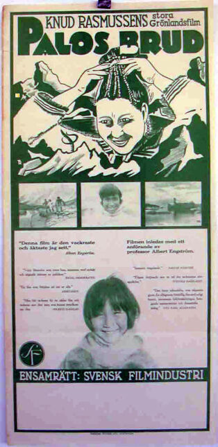 Plakat duńskiego filmu z 1934