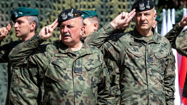 """Dwóch najwyższych generałów  w polskiej armii. """"Powinien być jeden"""""""