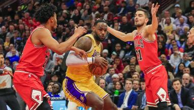 LeBron James znowu z triple-double.