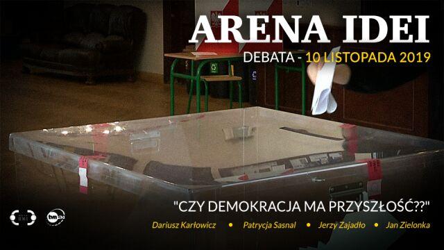 """""""Arena Idei"""" w najbliższą niedzielę o godzinie 19.20 w TVN24"""