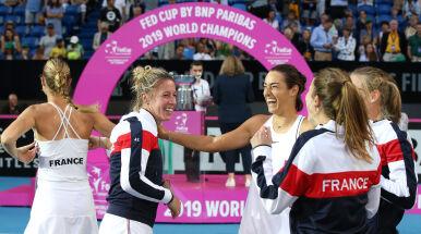 Deblistki przesądziły o wygranej Francji w Pucharze Federacji