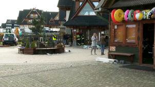 Wybuch w pensjonacie w Białce Tatrzańskiej. Trzy osoby ranne