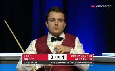 Ursenbacher rozpoczął walkę o 4. rundę kwalifikacji od wbicia setki