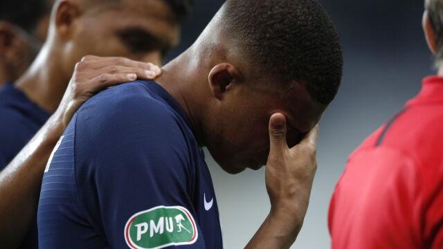 Brutalny faul i stracony ćwierćfinał Ligi Mistrzów. Mbappe nie pomoże PSG
