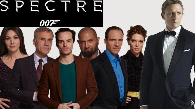 Nowy Bond ma już tytuł. Zagrają m.in. Christoph Waltz i Monica Bellucci