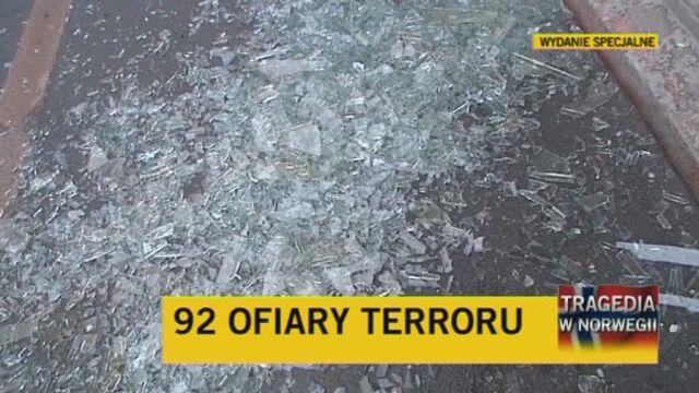 Polka mieszkająca w Oslo o działaniach policji (TVN24)