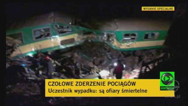 Relacja uczestnika wypadku (TVN24)