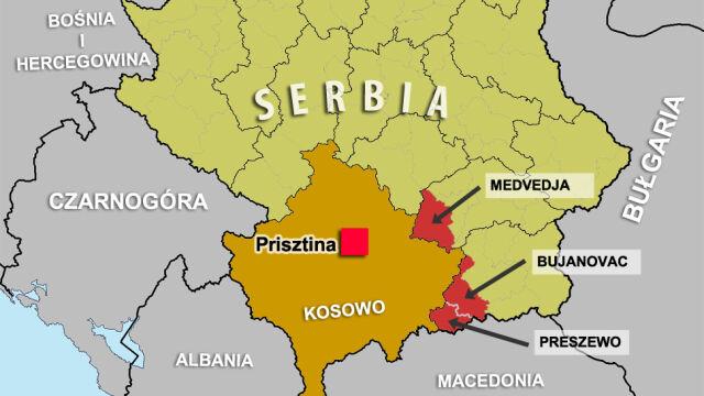 Albańska dolina w Serbii. Aneksja Krymu otworzy puszkę Pandory na Bałkanach?