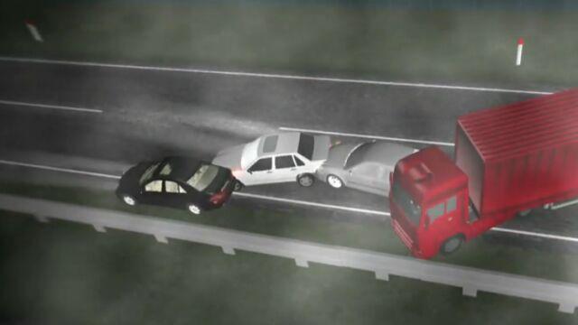 """Karambol we mgle.  Najtragiczniejszy wypadek """"majówki"""""""