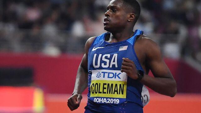 Mistrz świata w biegu na 100 m poszedł na zakupy. Grozi mu dwuletnia dyskwalifikacja