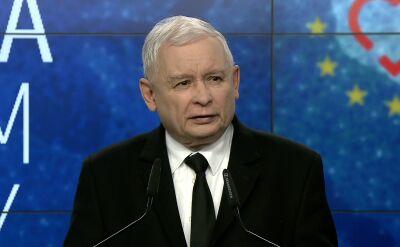 Całe przemówienie Jarosława Kaczyńskiego po ogłoszeniu wyników wyborów
