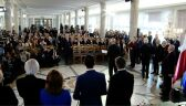 Kilkorga posłów do Parlamentu Europejskiego nie było na uroczystości odbioru zaświadczeń o wyborze