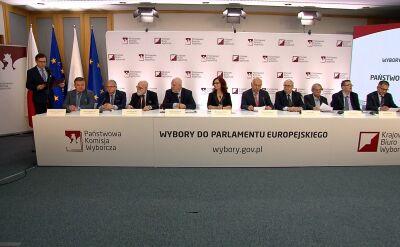 Komitety wyborcze uprawnione do udziału w podziale mandatów